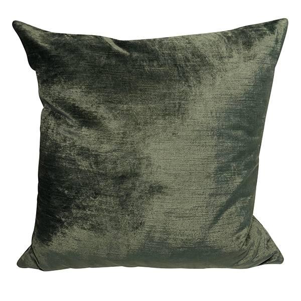 Cushion Cover Slub Velvet Lovely Green
