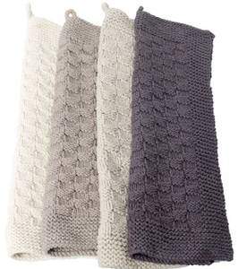 Image of Knitted Tea Towel Concrete